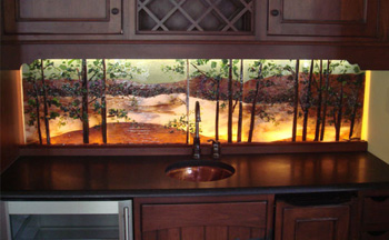 Infused Glass Design