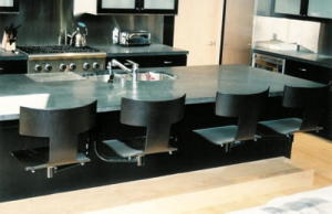 Suspended Seating for Kitchen islands