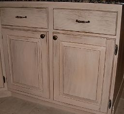 Antique faux finish