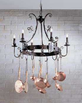 Country kitchen island lamp