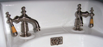 Original nickel faucets